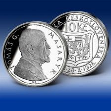 T.G.Masaryk 10 Korun ČSR