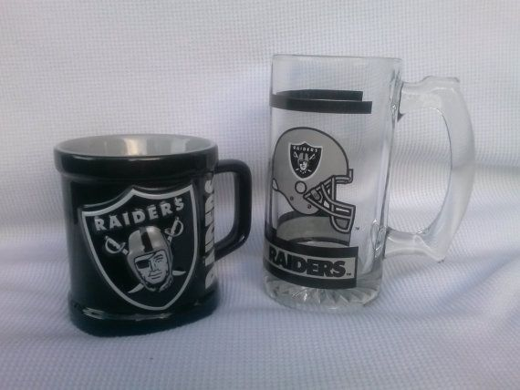 Oakland Raiders 1990 S Official Nfl Glass By