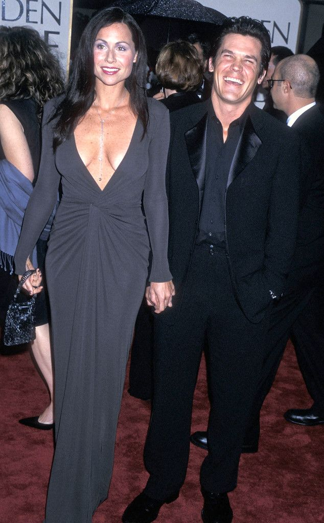 Minnie Driver & Josh Brolin from Golden Globes Couples Over the Years  2000