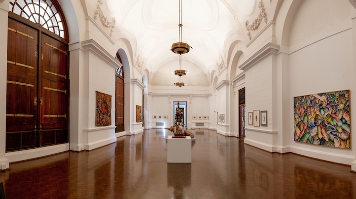 Johannesburg Art Gallery in South Africa.