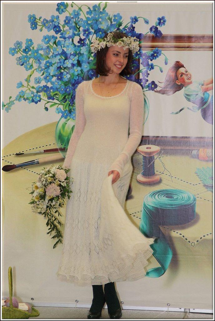 https://flic.kr/p/FHmZe2 | Платье из Flying Silk Lana Bella | Модель участвовала в показе на Атмосфере творчества (сент 2013 г)