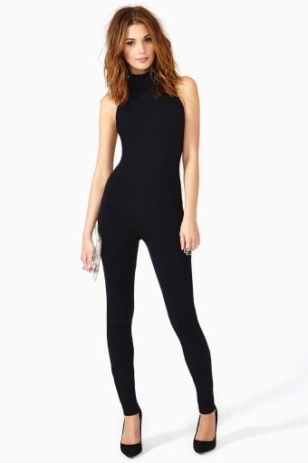Well.... I need this.  Night Cat Bodysuit - Nasty Gal