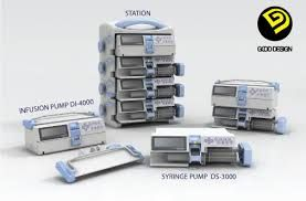 Medical infusion control panel syringe - the more syringes, the merrier!