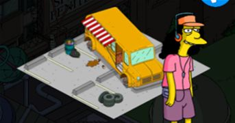 simpsons tapped out school bus - Bing Images
