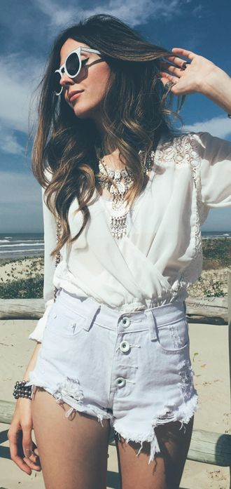All White Fall Inspo by Fashion Coolture