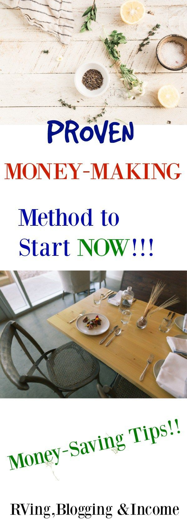 Proven Money-Making Method To Start Today! - RVing, Blogging & Income