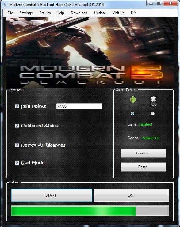 [Cheats] Modern Combat 4 Hack No Survey