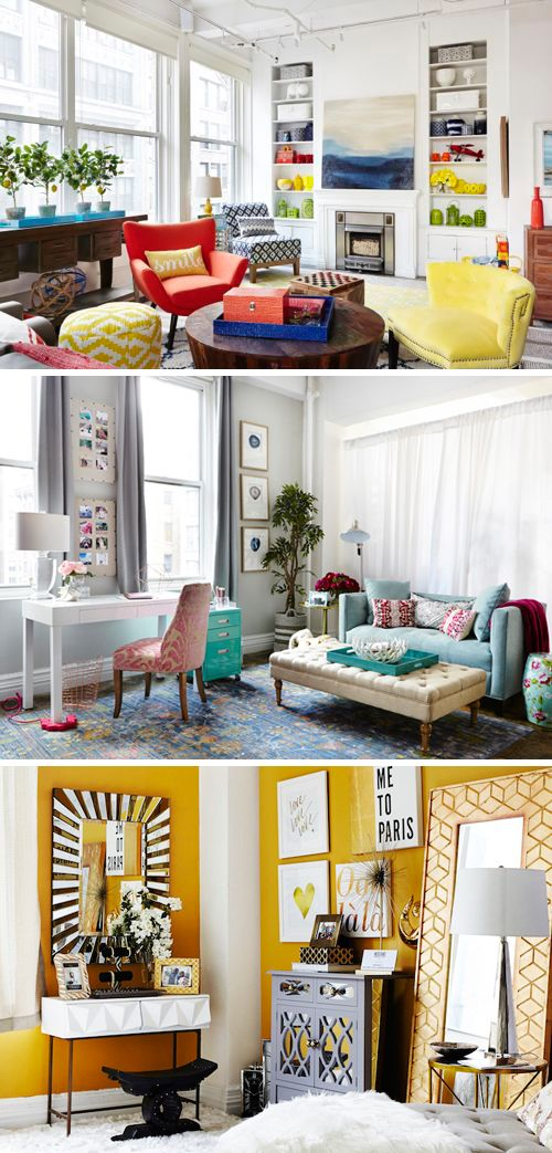 A Happy Home Office with HomeGoods