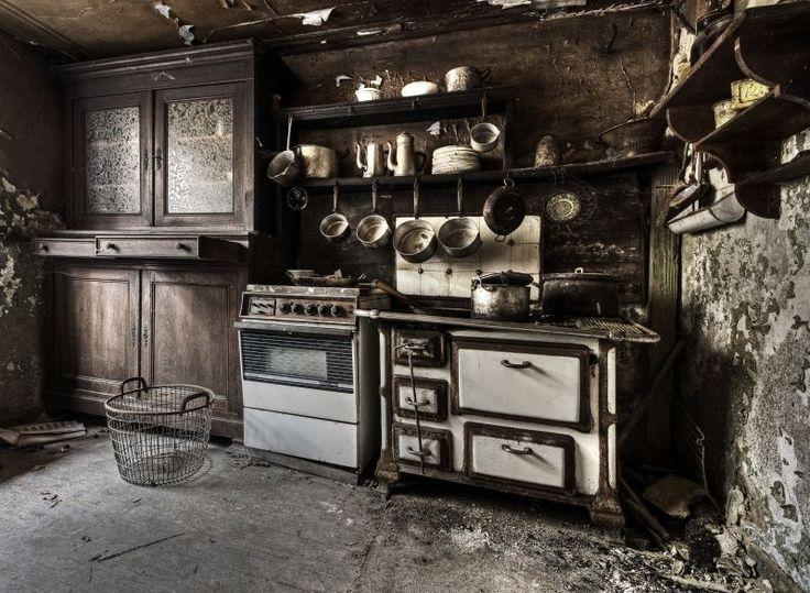 Old Kitchen by stengchen.deviantart.com on @deviantART