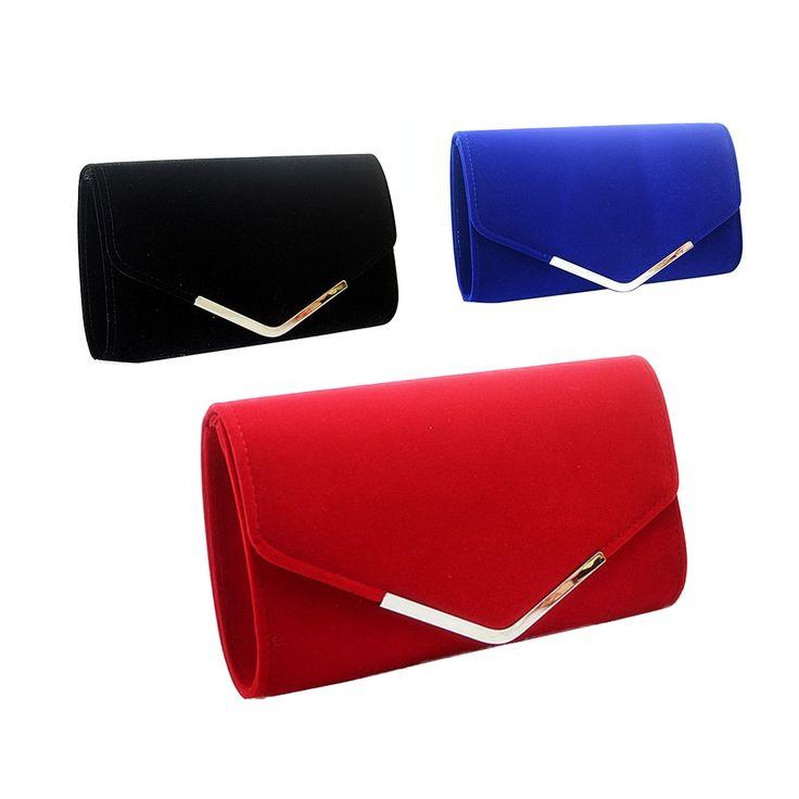 Mode Einfache Umschlag Kupplung Tasche Plüsch Metall Elegante Ketten Hand Taschen Einzelne Sc…