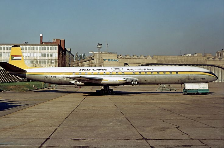 Sudan Airways Comet Fitzgerald - Sudan Airways - Wikipedia