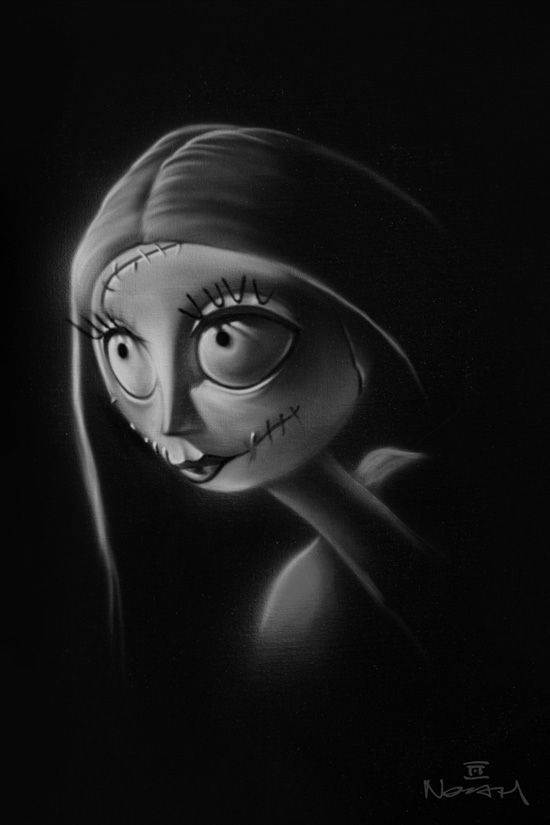 Sally by Artist Noah, Part of 'Tim Burton's The Nightmare Before Christmas'-Themed Collection
