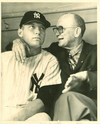 Mickey Mantle and Ty Cobb