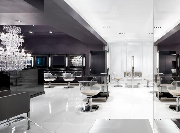 Gray Black White Kerastase Salon Design Pinterest