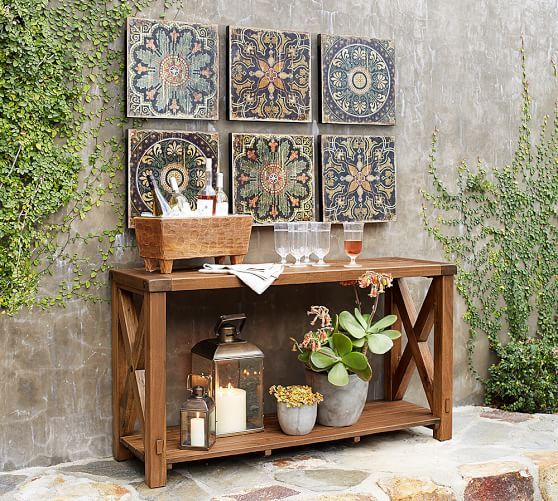 these are the latest trends in decorating the outdoors patio walloutdoor