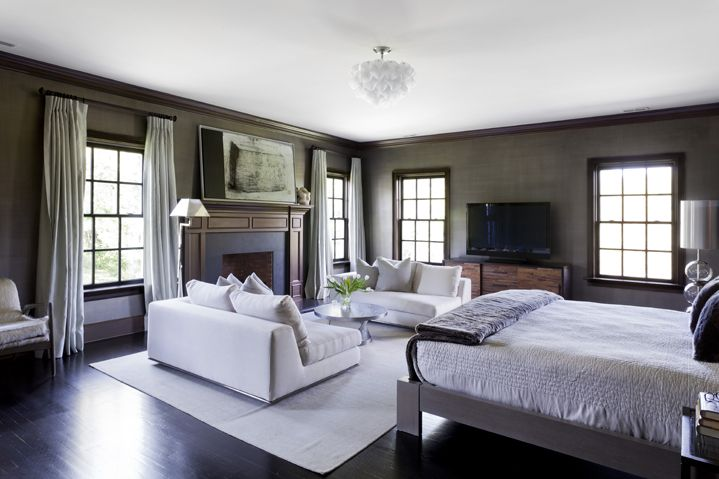 Master Bedroom Lounge Seating Area Home Style Pinterest