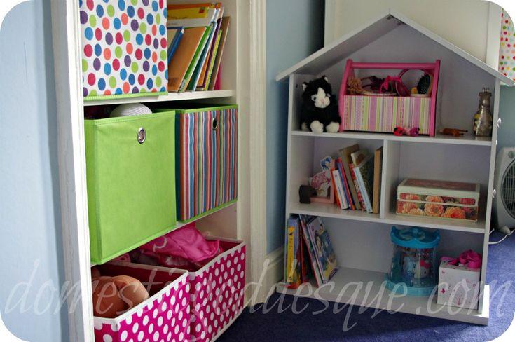 dollhouse bookcase bedroom storage