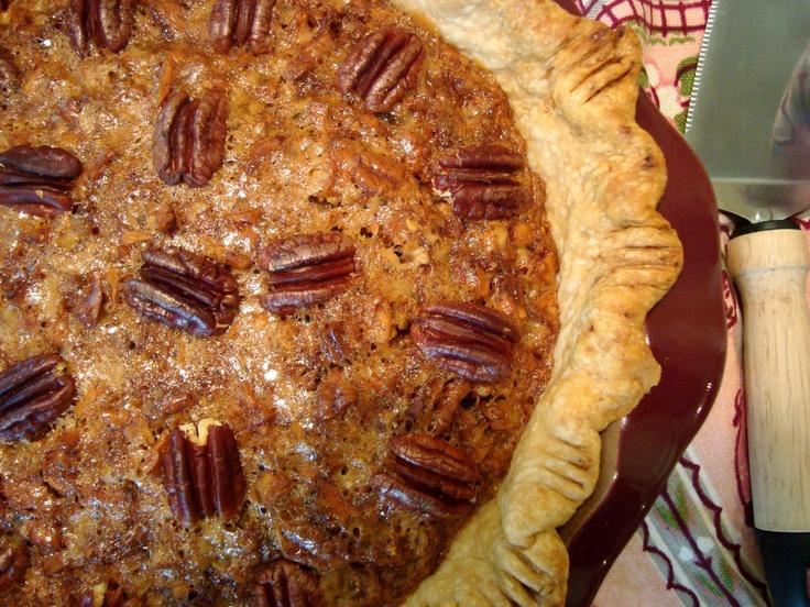 Toffee Pecan Pie // Headspace   Cakes/pies/desserts   Pinterest