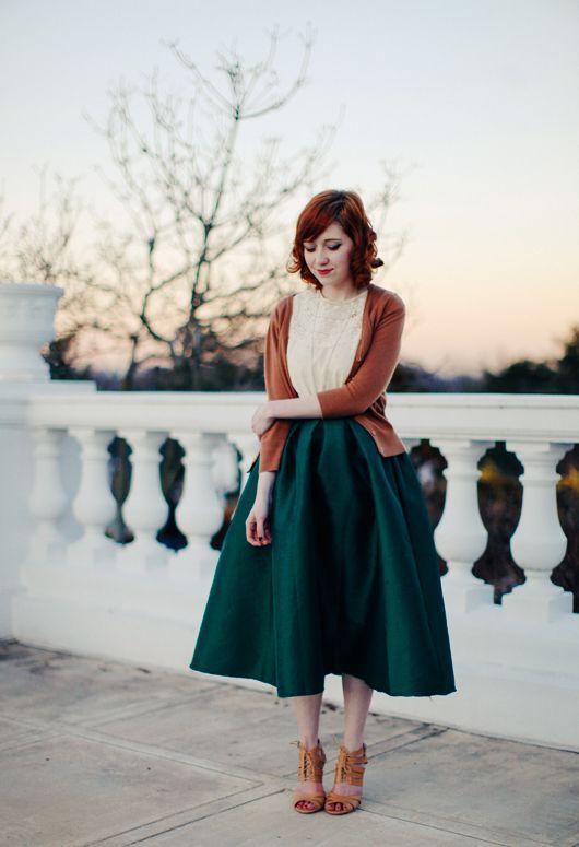 Big green midi skirt                                                                                                                                                                                 More