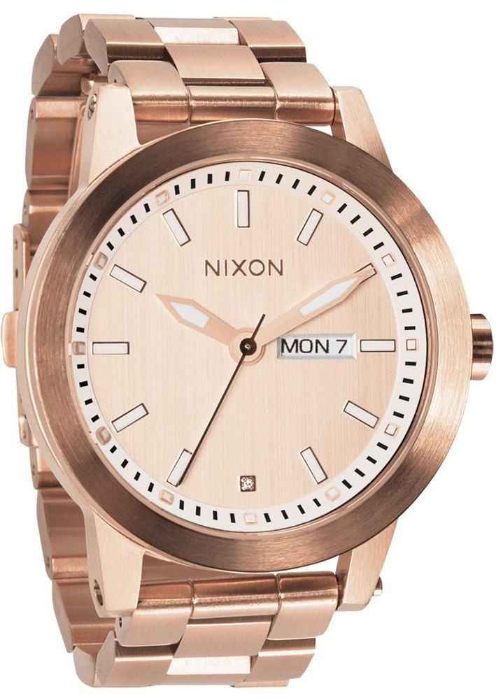 Nixon The Spur Watch - All Rose Gold $300.00