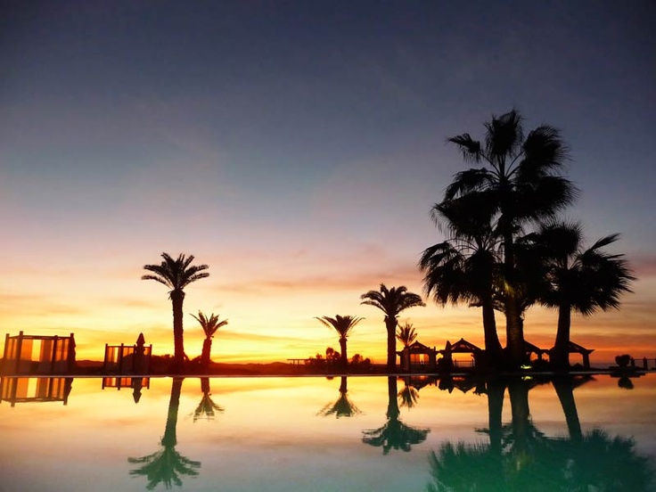 So schön wie 1001 NAcht: Sonnenuntergang im ROBINSON Club Agadir
