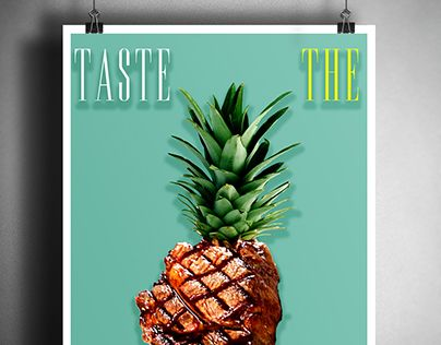 "Check out new work on my @Behance portfolio: ""Digital poster - TASTE THE ART"" http://be.net/gallery/52738225/Digital-poster-TASTE-THE-ART"