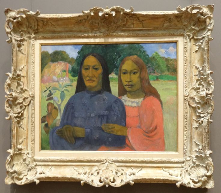 Paul Gauguin Two Women Oil on canvas