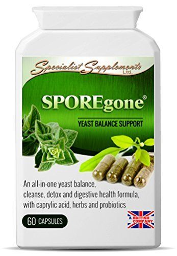 SPOREgone - Candida & Dysbiosis Combination - All-in-One Yeast, Digestion & Colon Health Support Supplement - Specialist Supplements by Specialist Supplements Ltd.. For price & product info go to: https://all4babies.co.business/sporegone-candida-dysbiosis-combination-all-in-one-yeast-digestion-colon-health-support-supplement-specialist-supplements-by-specialist-supplements-ltd/