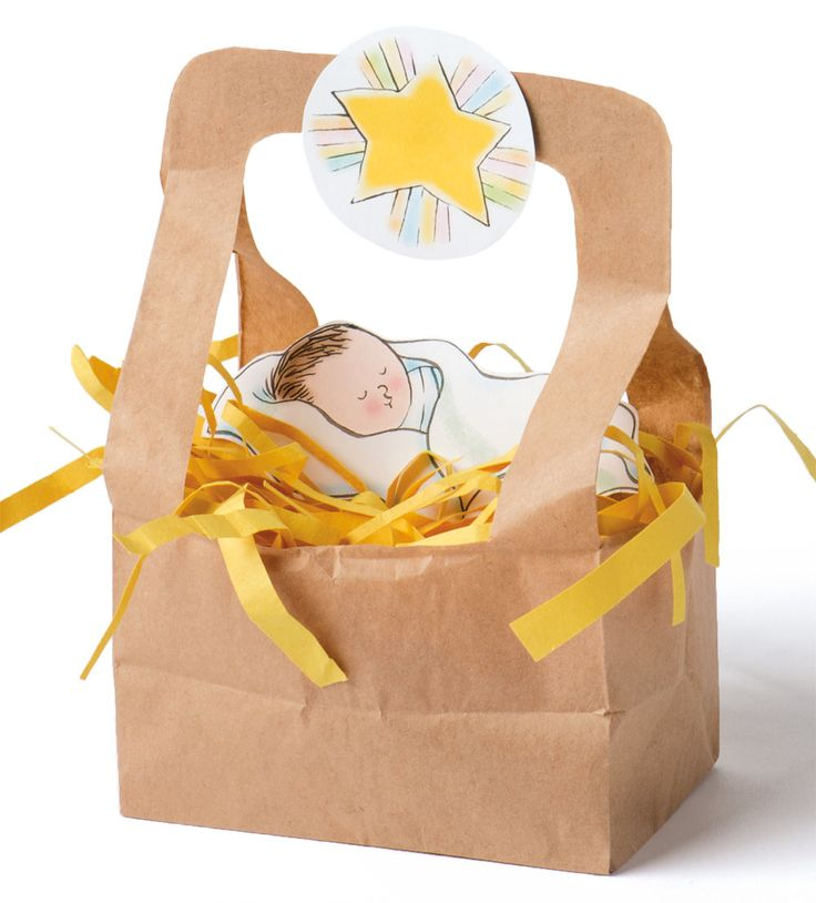Craft from the Friend magazine. Make this manger to help you and your children remember Jesus this Christmas season!
