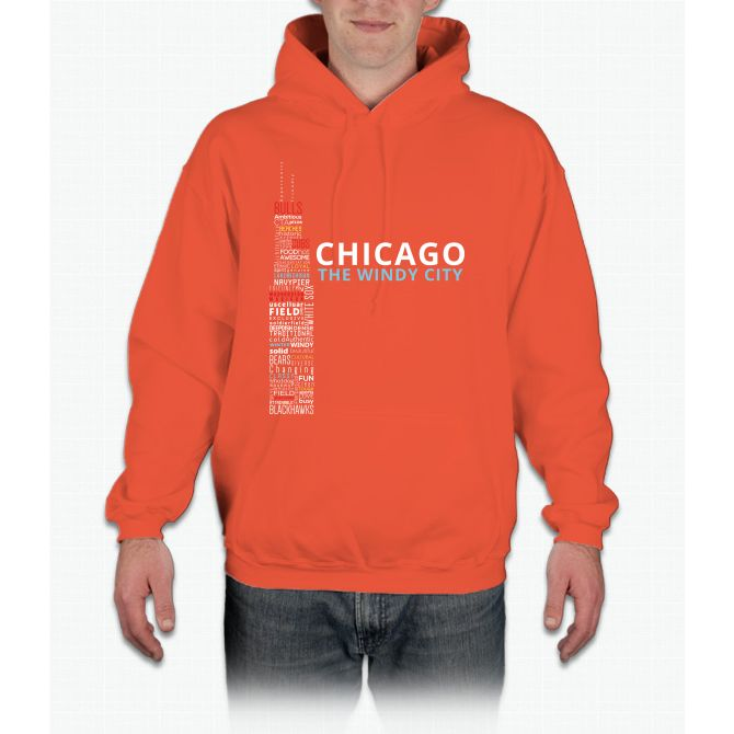 The Windy City chicago cubs Hoodie
