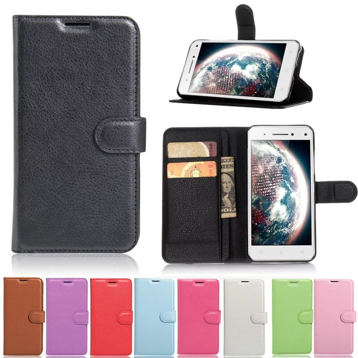 High Quality Luxurious Leather Book Case For Lenovo Vibe Shot Z90 Z90-7 Wallet Cover Case