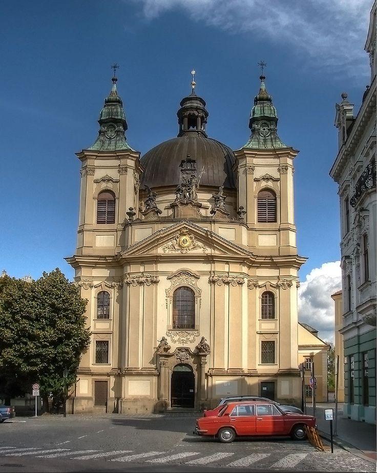 kostel sv. Jana Křtitele ( 1737–1768, mesto Kroměříž)