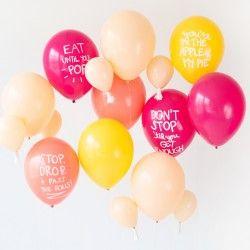 Thanksgiving DIY Thanksgiving Pun Balloons