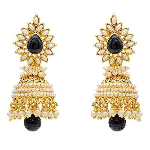 Beautiful Black Stone Gold Plated White Pearls Indian Tri... https://www.amazon.com/dp/B01L57VJO2/ref=cm_sw_r_pi_dp_x_vncLybTAPKH4T