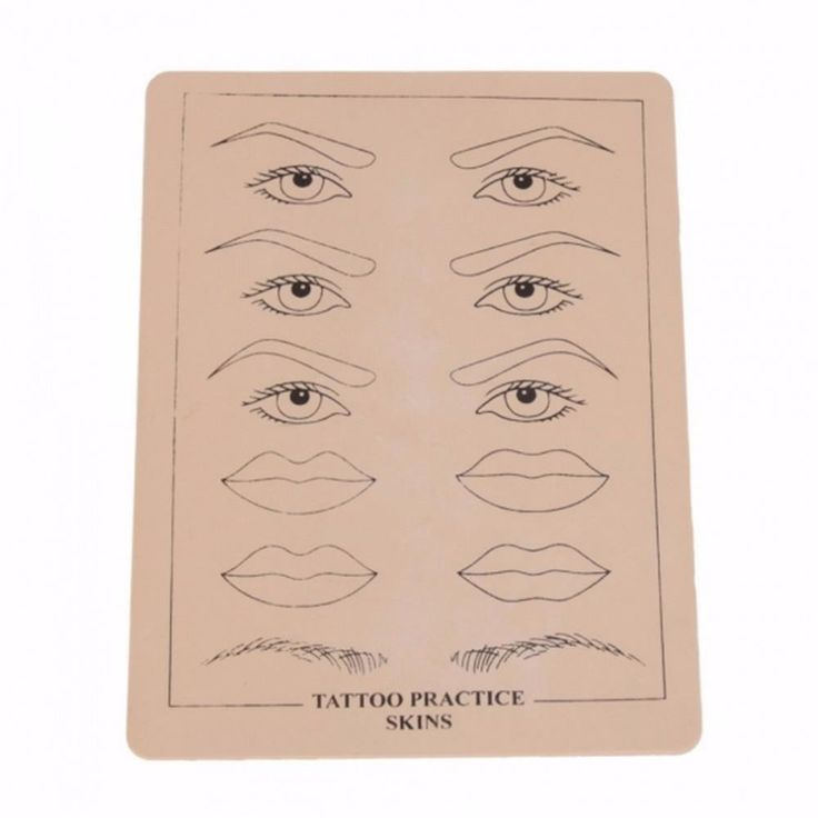 10pcs/lot Blank Eyebrow Lips Artificial Soft Leather Tattoo Simulation Practice Skin for. Type: Tattoo accesoriesMaterial: Artificial Soft LeatherBrand Name: YKSModel Number: Tattoo Simulation Practice Skin