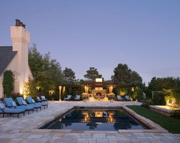 12th Street Project - traditional - pool - wichita - Tiffany Farha Design