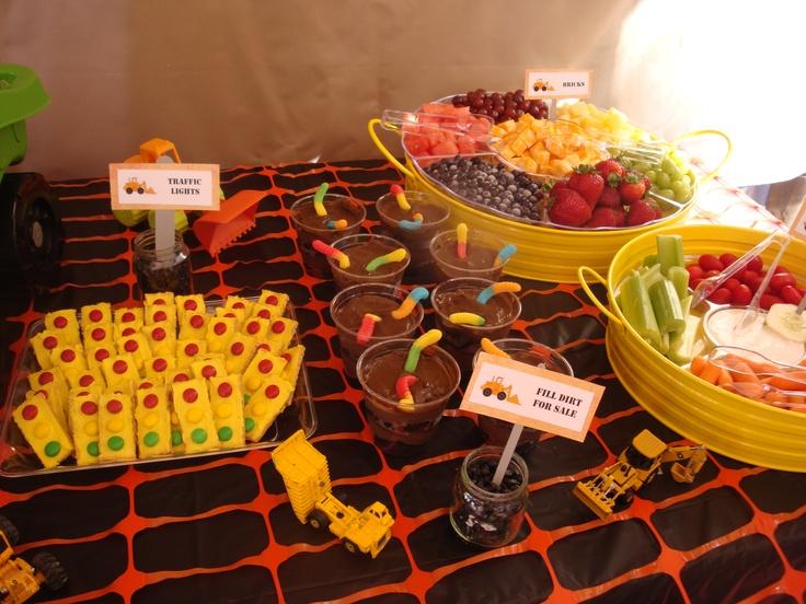17 best images about construction party on pinterest for Construction cuisine