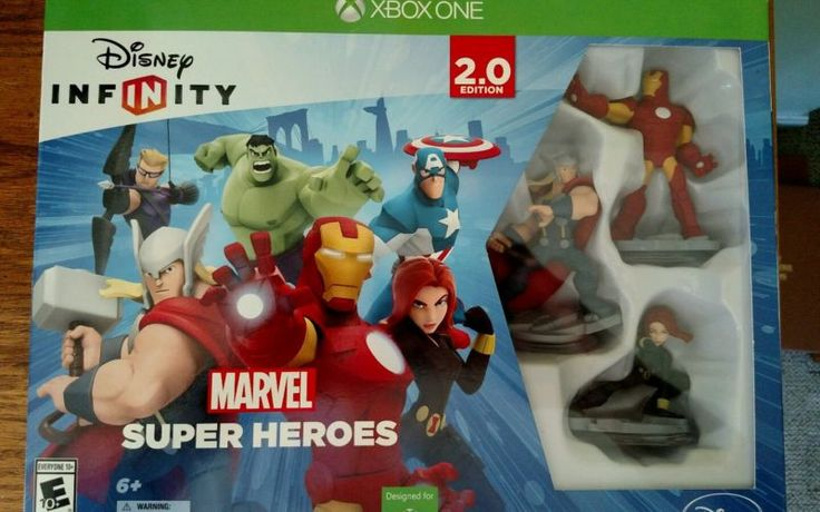 XBOX ONE DISNEY INFINITY MARVEL SUPER HEROES STARTER PACK 2.0 EDITION NEW - http://video-games.goshoppins.com/video-games/xbox-one-disney-infinity-marvel-super-heroes-starter-pack-2-0-edition-new/