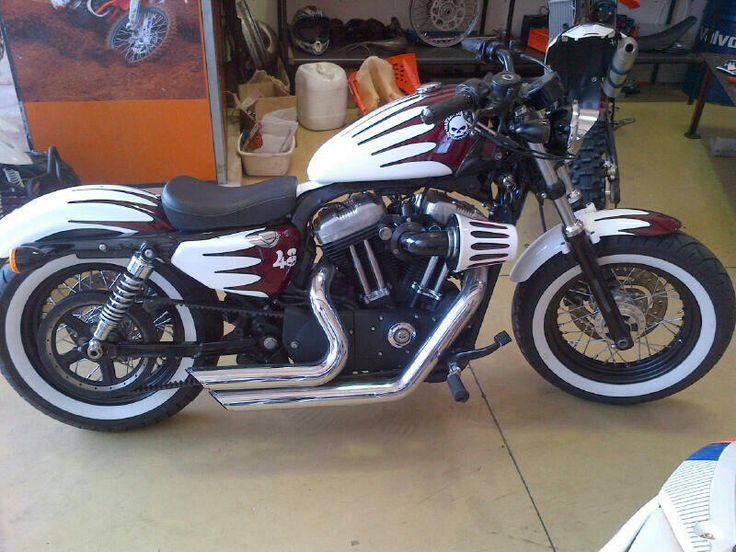 Harley 48 wheels back to black
