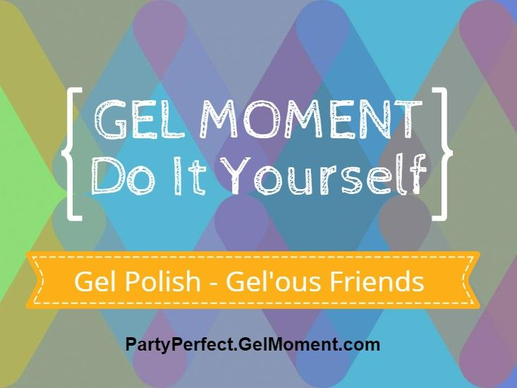 Gel Moment a brand new kind of Gel Polish.  Available only through online ordering or in-home parties.  Ask me!