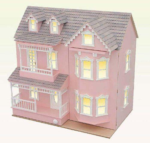 Maison de poup es villa r sidentielle style colonial - Maison de style victorien ...