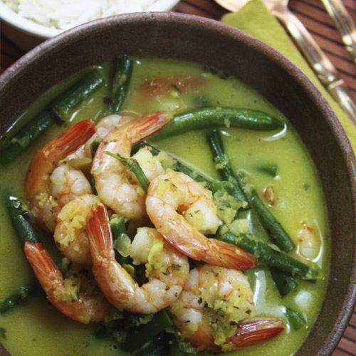 Fragrant Prawn Curry with lemon and coriander infused basmati rice. From Crush Online Magazine #comfortFood #yummy