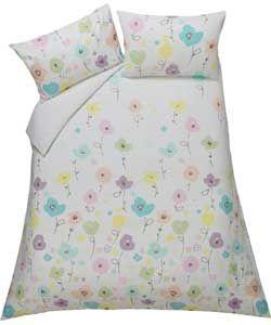 Buy Confetti Floral Multicoloured Bedding Set - Kingsize at Argos.co.uk, visit Argos.co.uk to shop online for Duvet cover sets