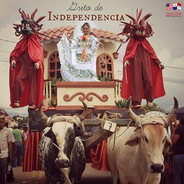 Desfile para el Dia del Grito de independencia