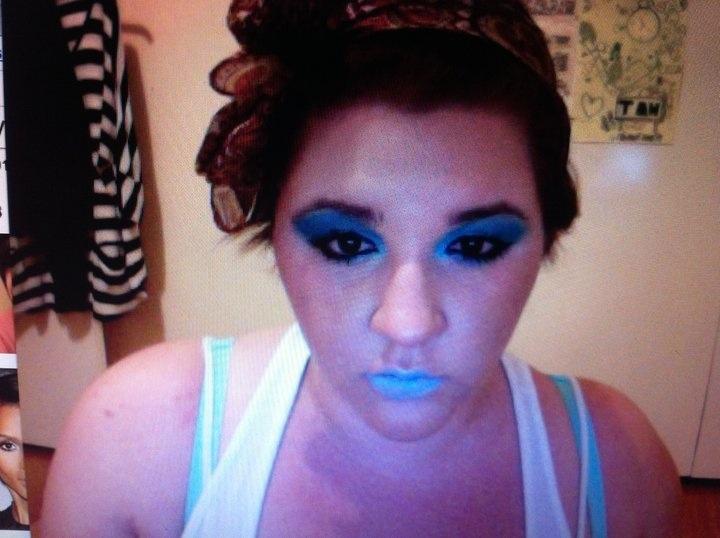 Crazy - Blue - Fun •nk• @makeupbynataliek