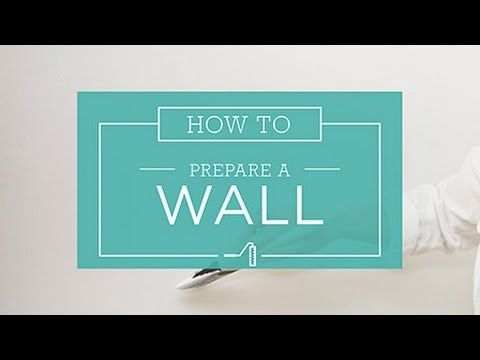 Read our step by step guide at http://bit.ly/prepare-wall Learn how to properly prepare a wall before painting with Taubmans How To guide. Find out what you'...