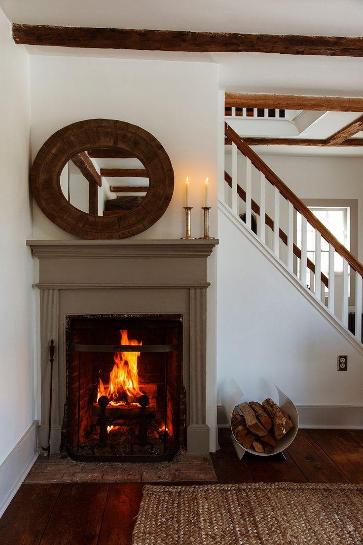 128 best Fireplace images on Pinterest | Primitive fireplace ...