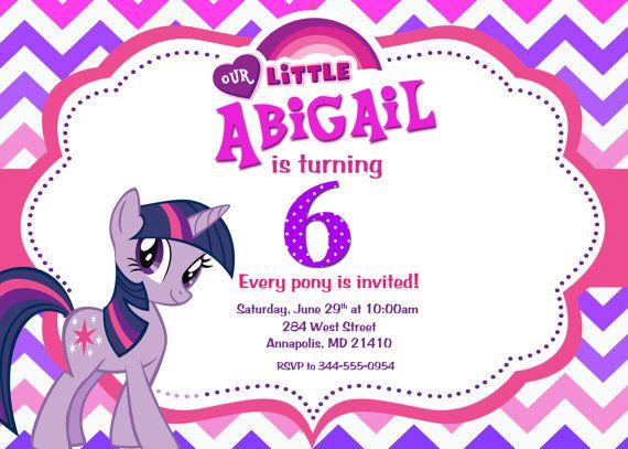 My Little Pony Twilight Sparkle Birthday by PrettyPaperPixels