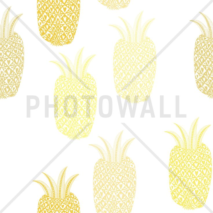 Pineapple - Fototapeter