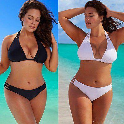 Hot Low Waist Plus Size Bikini